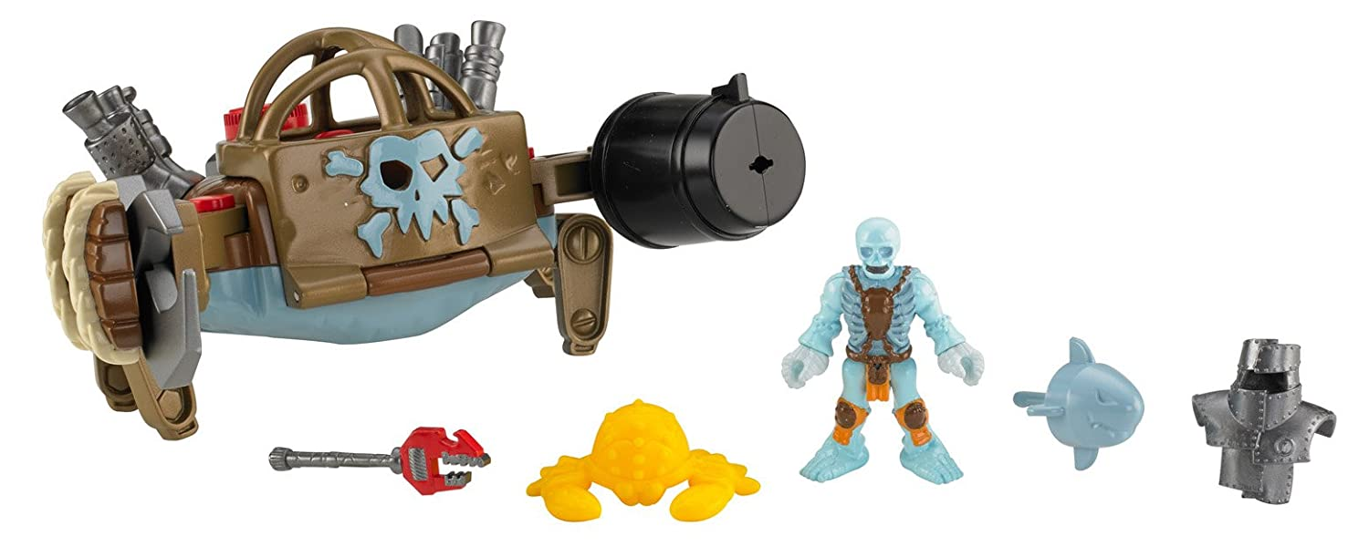 amazon com fisher price imaginext pirate crab walker toys games