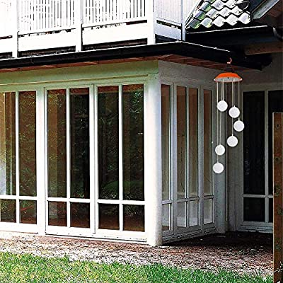 Solar Wind Chime-Licht LED-Garten-Hang Spinner Lampe Farbwechsel Lawn Yard Home Decoration