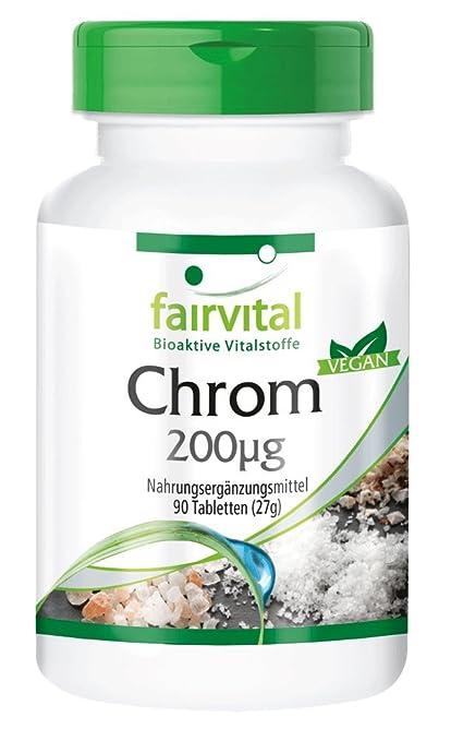 Picolinato de cromo 200 ug de, empaquetado a granel durante 3 meses - dosis alta