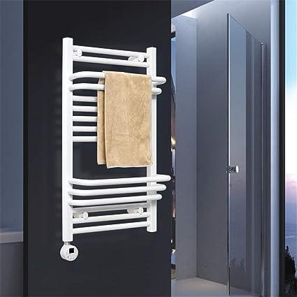 Homeure Radiador Toalleros Electrico con Termostato Radiadores Pared Baño Secador Toallas,120x50cm