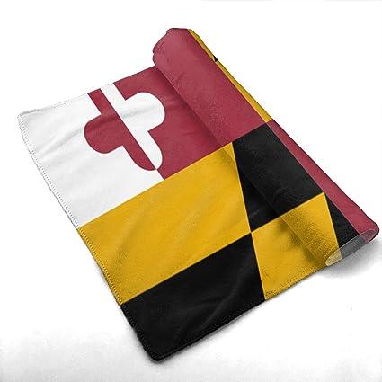 Amazon com: SoR6tH Maryland Flags Custom Towels/Hand Face