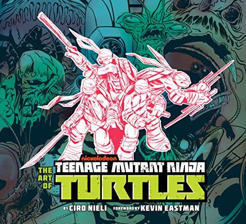 ninja turtles art book - 2
