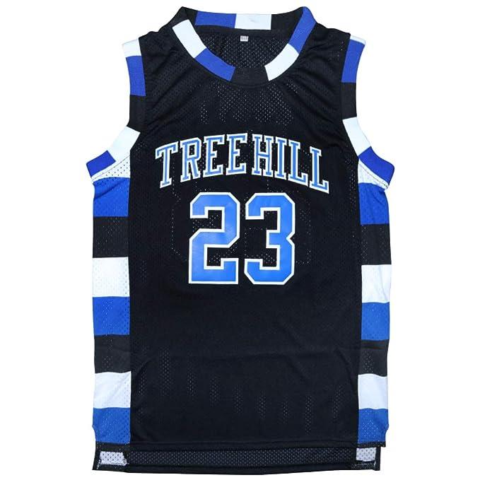 Amazon.com  Micjersey One Tree Hill  23 Ravens Basketball Jersey ... 8c94694f9
