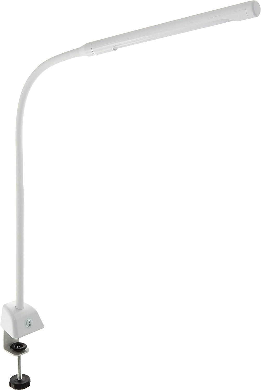 オーム電機 デスクライト LED クランプライト OAL-L14G-W