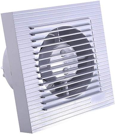 Ventilador, Extractor silencioso Cuadrado de Gran Volumen de Aire Ventilador de ventilación (Size : 180 * 180mm): Amazon.es: Hogar