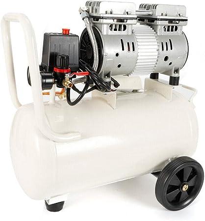 Küchenks 750W Compresor de Aire silencioso de bajo Nivel de Ruido 30L Sin Aceite UK Plug: Amazon.es: Hogar