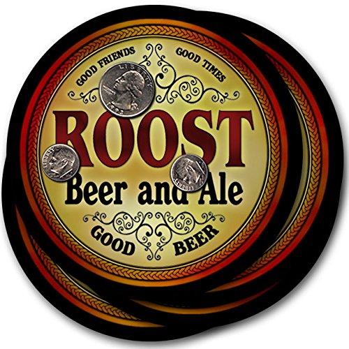 Roost Beer & Ale - 4 pack Drink Coasters ()
