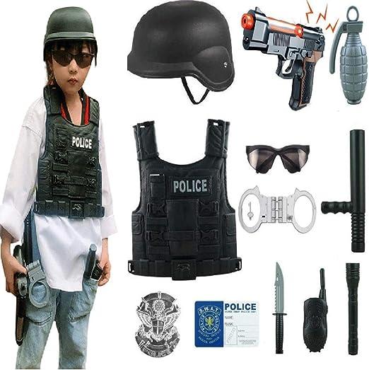 Disfraz de soldado de rol de niño Disfraz de niño militar Disfraz ...