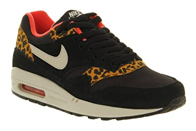 6aa260445160 Nike Air Max 1 (l) Black Gold Leopard Excl - 6 Uk  Amazon.co.uk ...