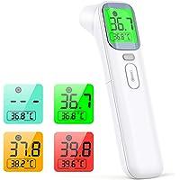 konjac termometro infrarrojos, termómetro digital termómetro sin contacto, modo 4 en 1 para medir el frente y oído…