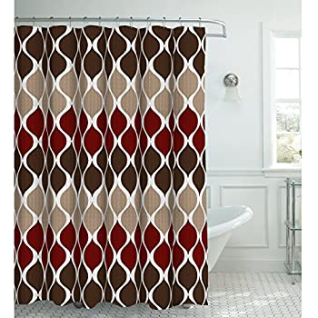 Amazon Com Clarisse Faux Linen Textured 70 X 72 In