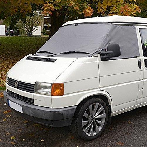 Regno Unito su misura per parabrezza anteriore SW117GREY Wrap copertura grigio UK Custom Covers