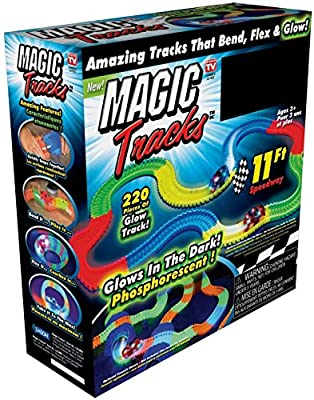 Magic Tracks Race Track (Random Car Color) from ONTEL Products Corp