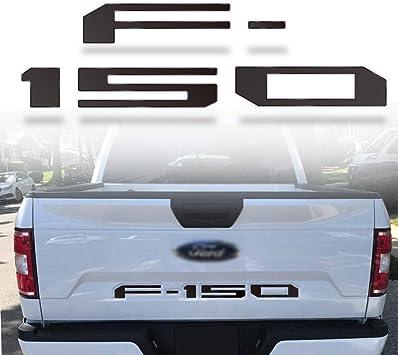 Winunite F150 2018 2019 2020 Tailgate Insert Letters Chrome Silver