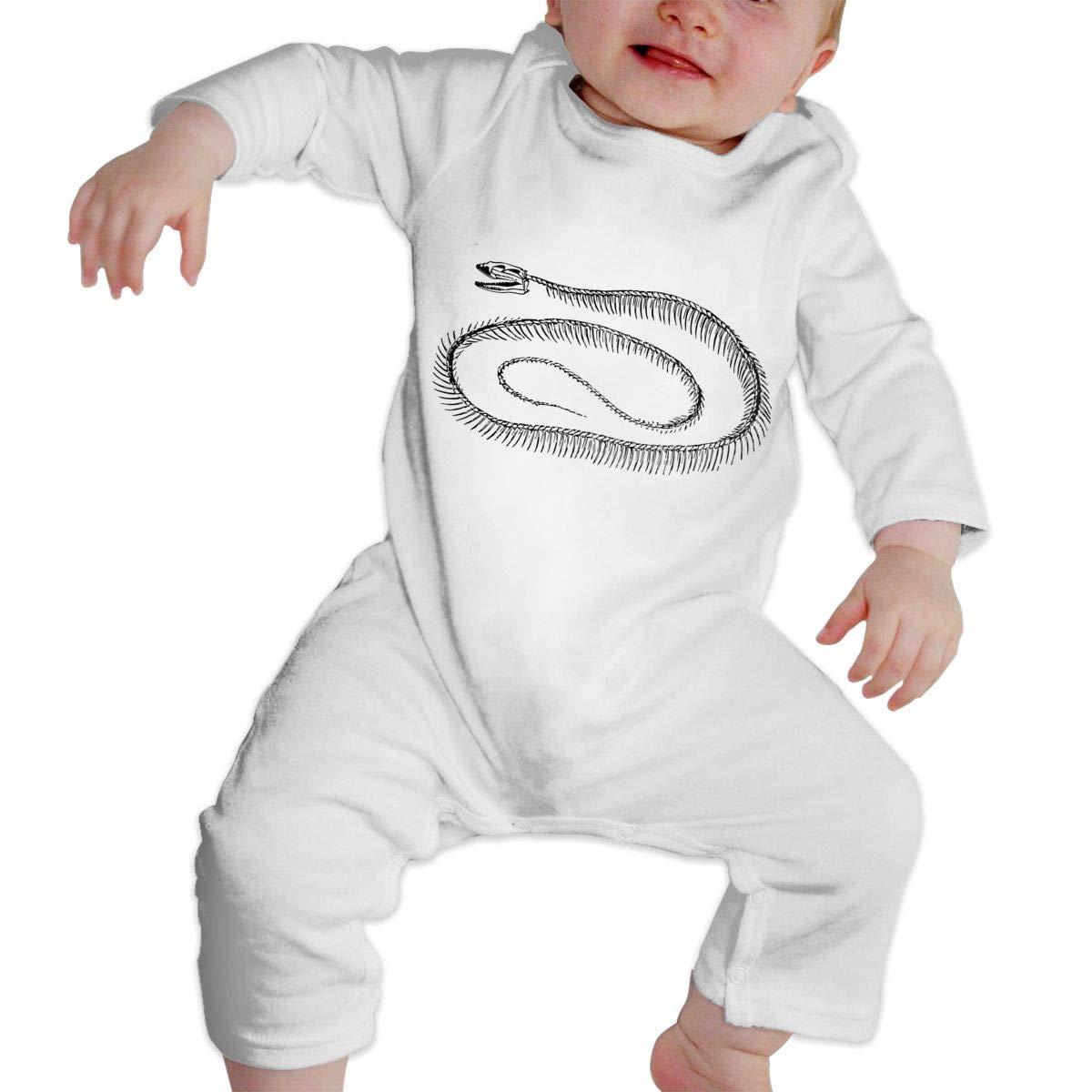 NOALKJ Babys Long Sleeve Romper,Snake Jumpsuit Bodysuit Clothes