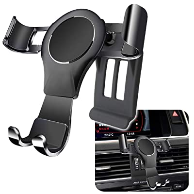 LUNQIN Car Phone Holder for Audi Q5 SQ5 2008-2016 Auto Accessories Navigation Bracket Interior Decoration Mobile Cell Phone Mount