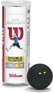 Wilson Staff Balles de Squash (3-Pack) Wilson - Tennis WRT617900