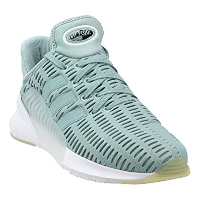 7f0e5bbfb08 adidas Climacool 02 17 Womens Style  BY9293-Green Wht Size  5