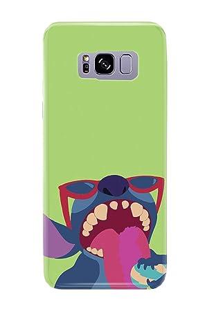 Carcasa para Samsung Galaxy S8 Lilo and Stitch Ohana Cute Sweet Disney 20 Diseños