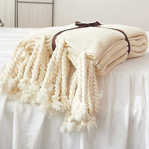Adminitto88 - Manta para sofá de algodón 100%, Manta de Patchwork ...