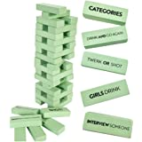 Buzzed Blocks Adult Drinking Game - 54 Blocks with Hilarious Drinking Commands and Games on 40 of Them   Perfect Pregame Part