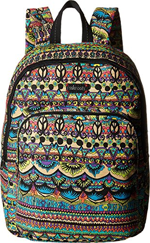 Sakroots Artist Circle Medium Backpack (Radiant One World)