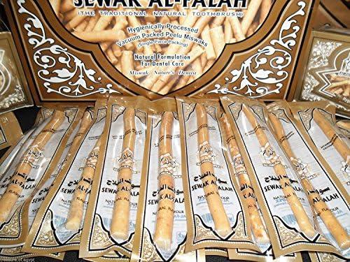 200 Natural Herbal Toothbrush Vacuum Sealed Sewak Siwak Meswak Arak Peelu Miswak
