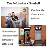 WJLING Motion Sensor Alarm, Wireless Home