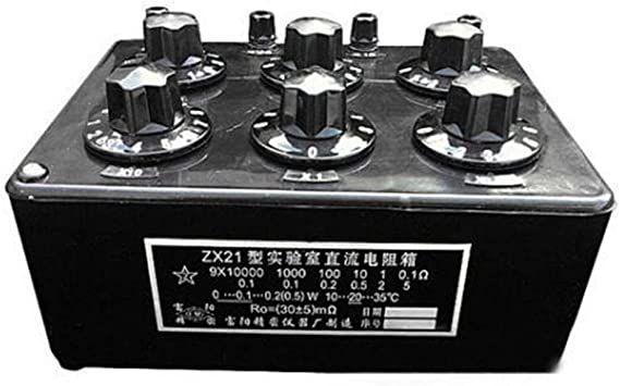 ZX21 Precision Variable decade resistor resistance box 0.1R to 99.9999kR