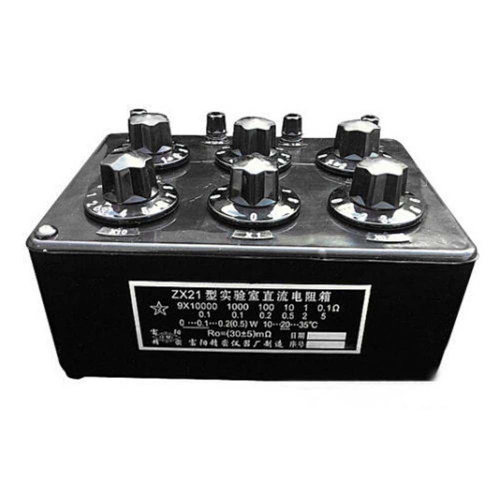 TOPCHANCES ZX21 Precision Variable Decade Resistor Resistance Box 0.1R
