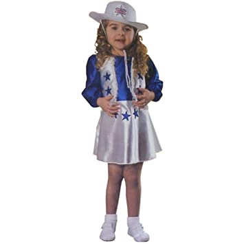 Amazon.com: Halloween Costume Dallas Cheerleader Toddler Girl 2T ...