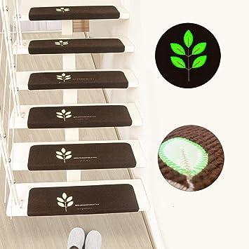 Escalera nórdica Escalón de paso luminoso Escaleras Pegatinas Alfombra PVC autoadhesiva sin pegamento {2}, gris: Amazon.es: Bricolaje y herramientas
