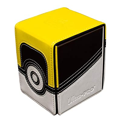 Pokemon Ultra Ball Alcove Flip Deck Box w/Magnetic Closure: Toys & Games [5Bkhe1106879]