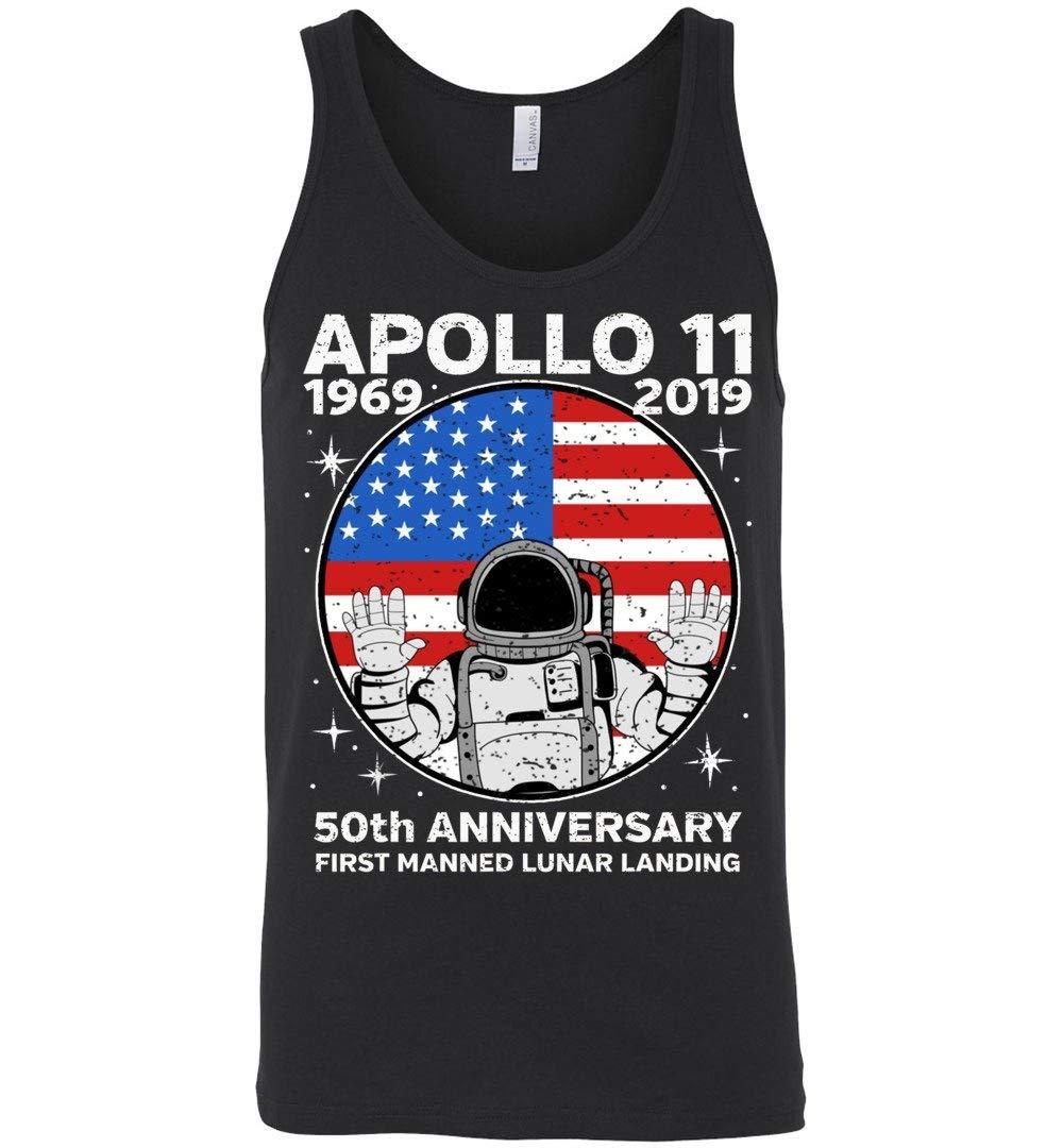 Vintage Apollo 11 50th Anniversary 1969 2019 Tank Top Shirts