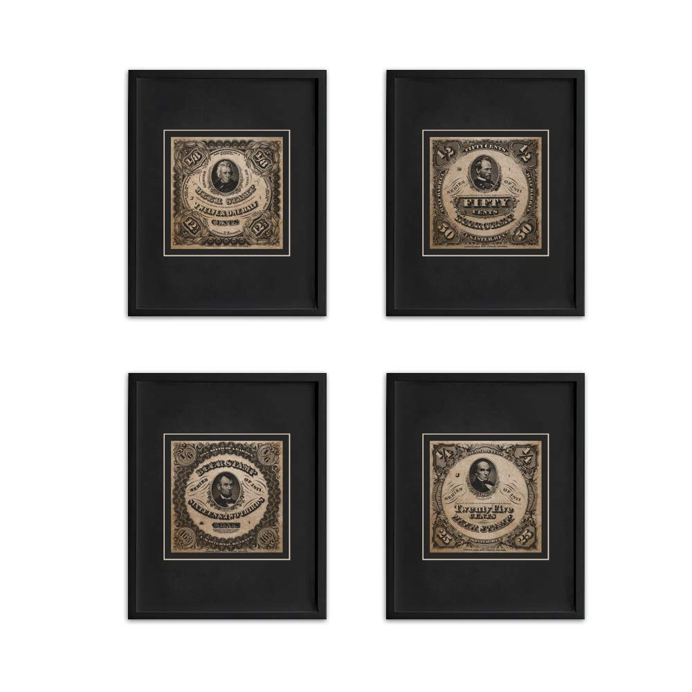 Wallables Beer Stamp Art Prints in Vintage Black /& White Four Stylish 8x10 Mens Wall Decor Art Prints Set Great for Living Room Pub Bar Tavern Bachelor Pad