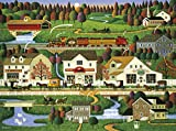 Buffalo Games Charles Wysocki - Yankee Wink Hollow - 1000 Piece Jigsaw Puzzle, Multi