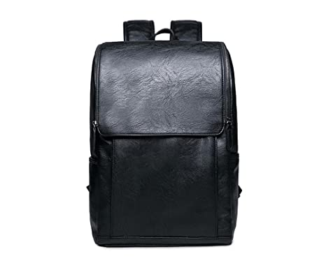 a7b35dc48082 UKXMNC Men Bag Large Capacity Leather Backpack For Man Casual Business  Laptop Backpack College Travel Male