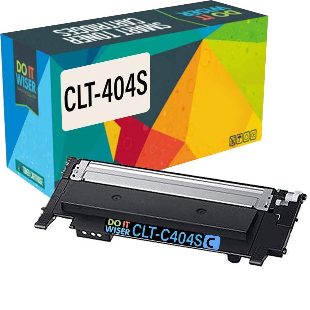 Do it Wiser- Cartuchos de Tóner Compatibles para Usar en Lugar de Samsung C480W Xpress SL-C430W SL-C480W SL-C480FW SL-C480FN SL-C430 SL-C480 CLT-K404S ...