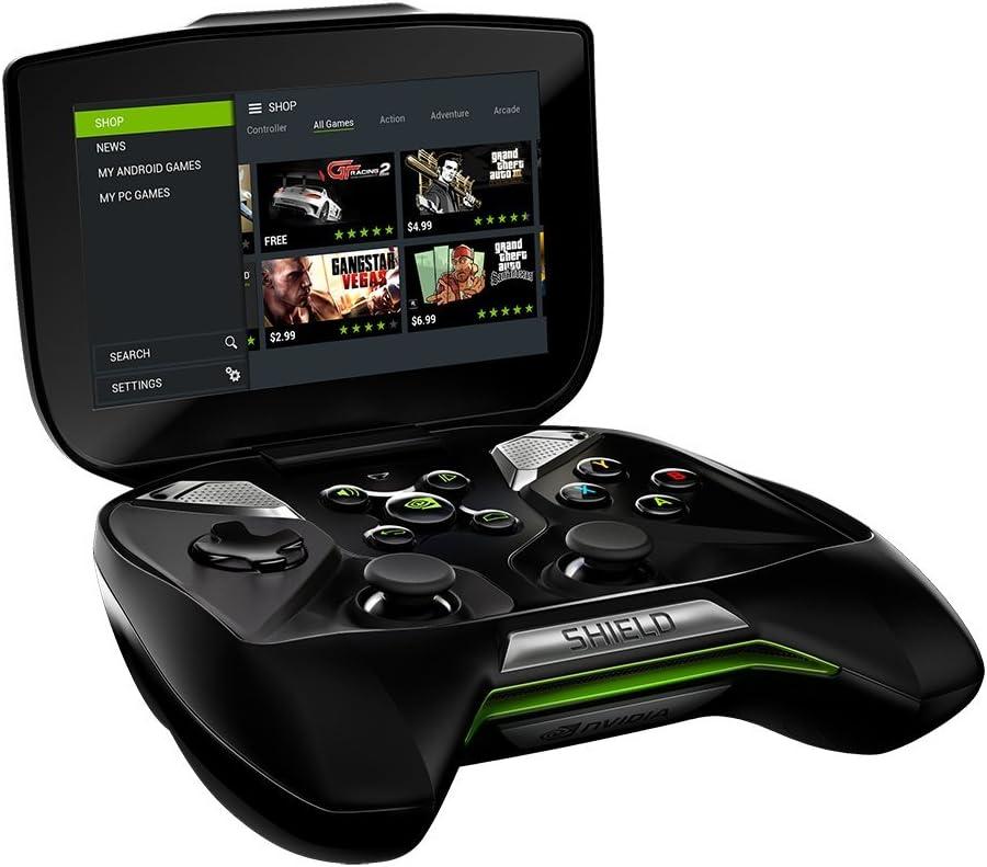 Consolle Nvidia Shield.Amazon Com Nvidia Shield Portable Pc Video Games