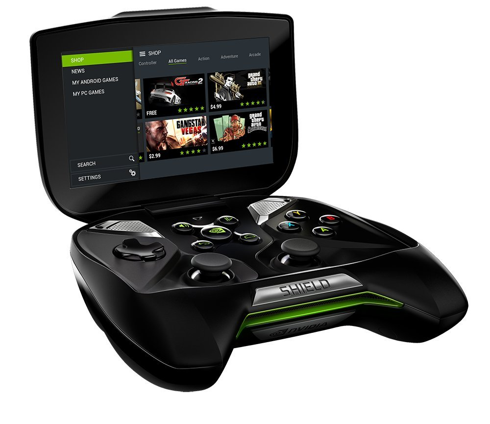Image result for nvidia shield portable