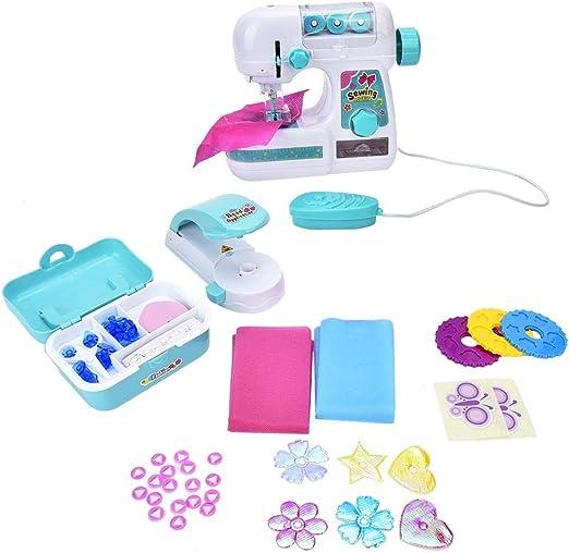 Mini Máquina de Coser para Niños, Efectos Iluminación de Plástico ...