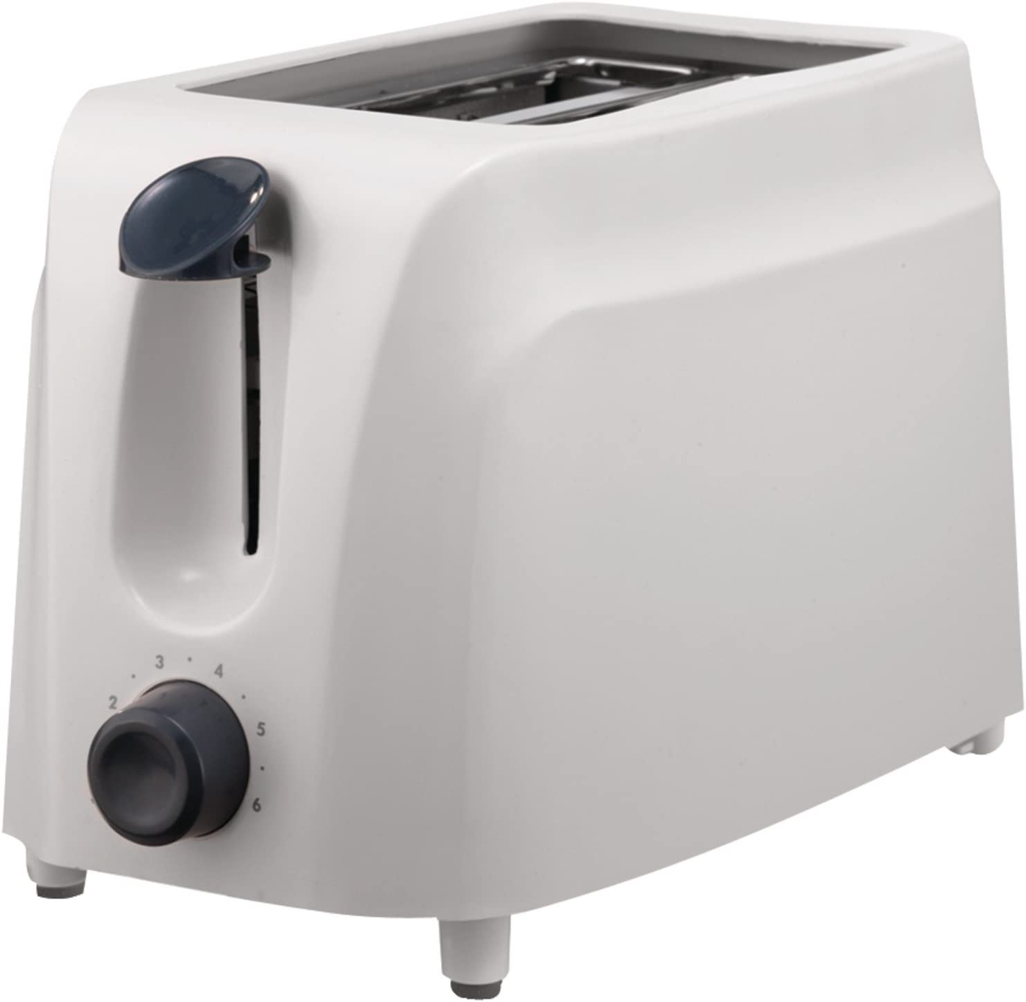 Brentwood TS-260W Toaster Cool Touch, 2-Slice, White