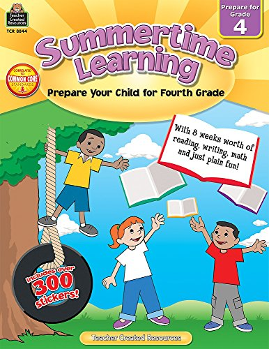 Summertime Learning: Preparing Your Child for Grade 4