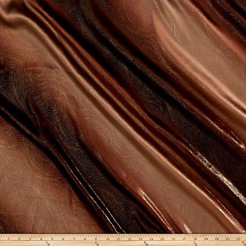 Charmeuse Chiffon Skirt (Charmeuse Satin Metallic 2-Tone Brown Fabric By The)