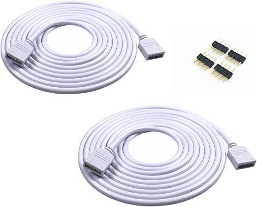 1 zu 2 Verteiler Verbinder Verlängerungskabel RGB Kabel LED Strip 4pin