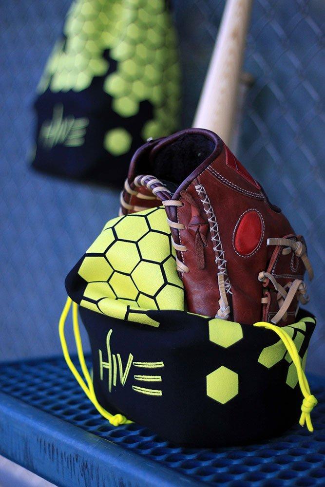 Hive Glove Bag   Glove Care Made Simple   Baseball Bag   Protect Your Glove