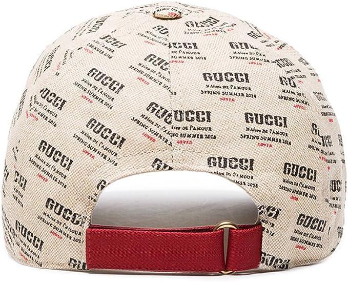 Gucci - Gorra de béisbol - para Hombre Beige Beige Small: Amazon ...