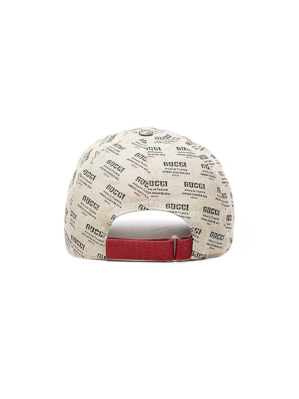 Gucci - Gorra de béisbol - para Hombre Beige Beige Small  Amazon.es  Ropa y  accesorios 8278eddc524
