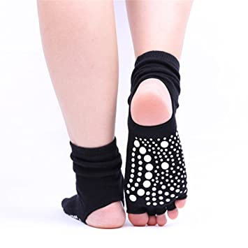 Aszhdfihas Calcetines de Yoga Calcetines de Goma ...