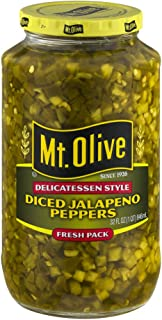 product image for Mt. Olive Delicatessen Style Diced Jalapeno Peppers, 32.0 FL OZ